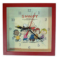 """Детские настенные часы """"Снупи (Snoopy)"""" 39-1"""