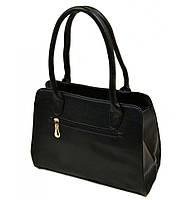 Сумка Женская Классическая иск-кожа 08-2 60511 black, сумка недорогая черного цвета