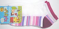 Разноцветные летние носки белые на девочку, фото 1