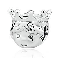 """Шарм бусина №1668 """"Маленький принц"""" для браслета Пандора PANDORA (Серебро)"""
