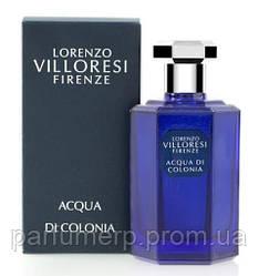 L. Villoresi Acqua Di Colonia (50мл), Unisex Туалетная вода  - Оригинал!