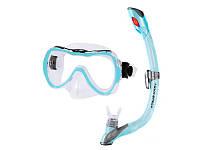 Набор для плавания для детей маска + трубка Aquaspeed