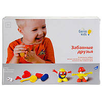 Набор для лепки Genio kids ''Забавные друзья'' (TA1026)