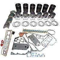 Ремкомплект двигателя (П(6)+Г(6)+вклад.+прокл.) (4923744+4089153+4089406+4955595+...), QSX-15