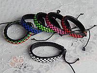 Модные кожаные браслеты