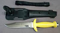 Нож для дайвинга и подводного плаванья Пиранья