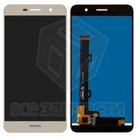 Дисплейный модуль для Huawei Y6 Pro (TIT-U02), золотистый
