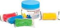 Набор для лепки Genio kids ''Тесто-пластилин 4 цвета'' (TA1055)