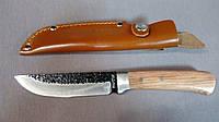 Нож нескладной Зебра Для охоты, рыбалки и туризма. Кожаные ножные