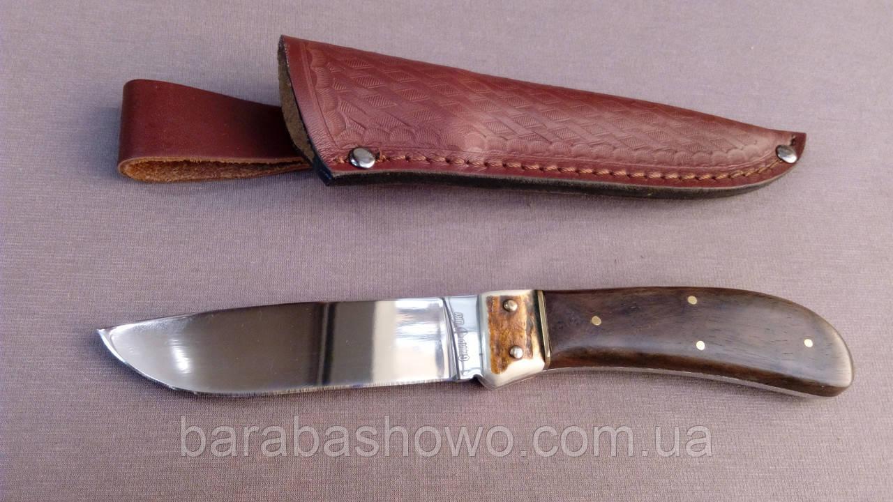Нож нескладной Пират качественный охотничий клинок