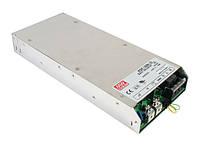 Блок питания Mean Well RSP-1000-12 В корпусе с ККМ 720 Вт, 12 В, 60 А (AC/DC Преобразователь)