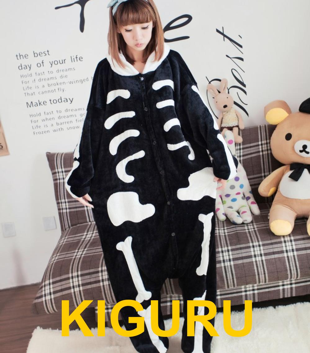 Пижама кигуруми скелет хеллоуин костюм - KIGURU в Киеве 117f7ae025265