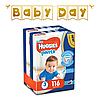 Підгузки-трусики дитячі Huggies Pants для хлопчиків 3 (6-11 кг), Mega Pack, 116 шт