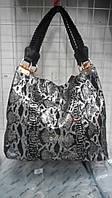 Красивая молодежная женская кожаная сумка