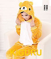 Пижама кигуруми Rilakkuma мишка Тедди