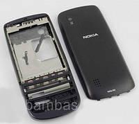 Корпус для Nokia 300 Asha (Black) Качество