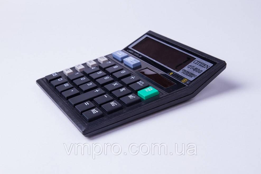 Калькулятор CT-500, 10 розрядний, 2 види харчування, покрокова коригування, калькулятори електронні