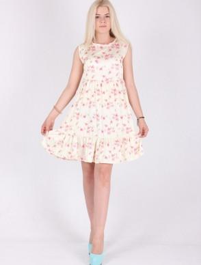 Красивое  летнее платье с цветочным принтом.Разные цвета.