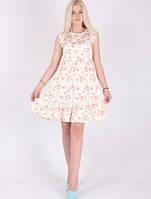 Красивое  летнее платье с цветочным принтом.Разные цвета., фото 1