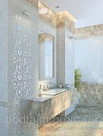 25х40 Керамическая плитка Оникс бежевый ванная кухня