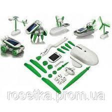 Іграшка-конструктор на сонячній батареї Robot Kids 6 в 1, Робот-трансформер