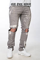 Модные черные мужские джинсы 2017 года