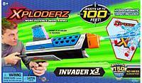 Игровой набор Xploderz X3 Invader c мишенью (46025T)