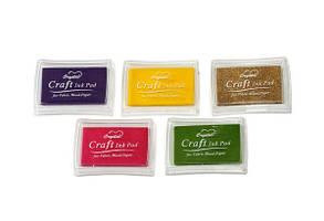 Штемпельная подушка для декоративных штампов, 15 цветов