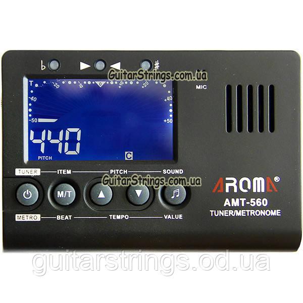 Guitar Metronome/Tuner Aroma AMT-560 метроном/тюнер/тон генератор