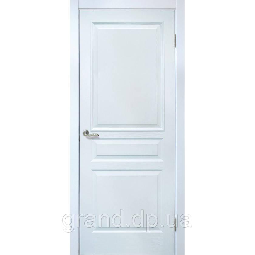 Двери межкомнатные Омис Барселона ПГ ПВХ  глухая, цвет белый