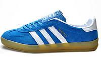 Мужские кроссовки Adidas Gazelle Indoor Dark Blue