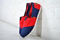 Только размер 40 !!!! Эспадрильи, мокасины Fashion синие красным