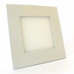 Светодиодный точечный светильник для потолка армстронг квадратный, корпус алюминий, белый, 6Вт