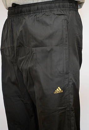 Мужские спортивные штаны ADIDAS (плащевка) (Реплика), фото 3