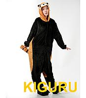 Костюм пижама в виде зверя кигуруми енот ( красная панда )