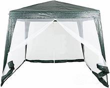 Павильон шатер палатка тент с москитной сеткой и молниями павільйон