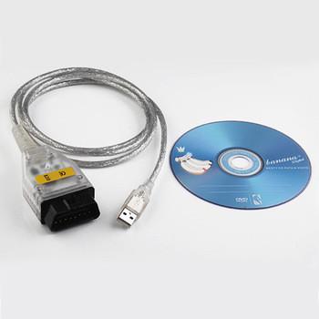 BMW INPA / Ediabas К + DCAN Интерфейс USB диагностический тест линии.