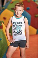BERRAK Комплект майка+шорты для мальчика 5321