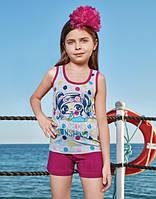 BERRAK Майка+шорты для девочки 6534
