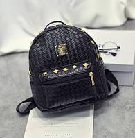 Черный женский рюкзачок