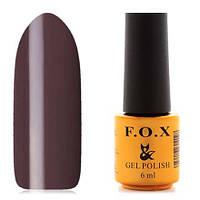 Гель-лак F.O.X  6 мл pigment №088 (серо-коричневый), фото 1