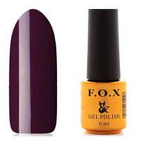 Гель-лак F.O.X  6 мл pigment №094 ( фиолетово-сливовый), фото 1