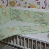 Бортики Asik в детскую кроватку