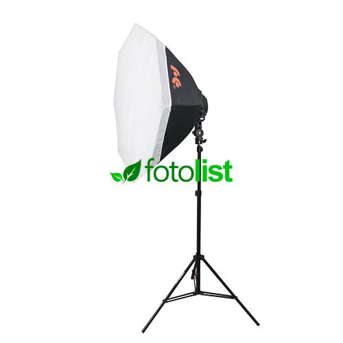 Постоянный диодный свет Falcon LED-B628FS(OB8), Ø 80 см, 6х12w, 840 Вт, 5500К + стойка 2.45 м