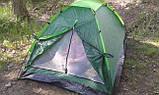 Двомісна Палатка туристична зелена, фото 7