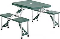 Стол раскладной со стульями HXPT-8821-B