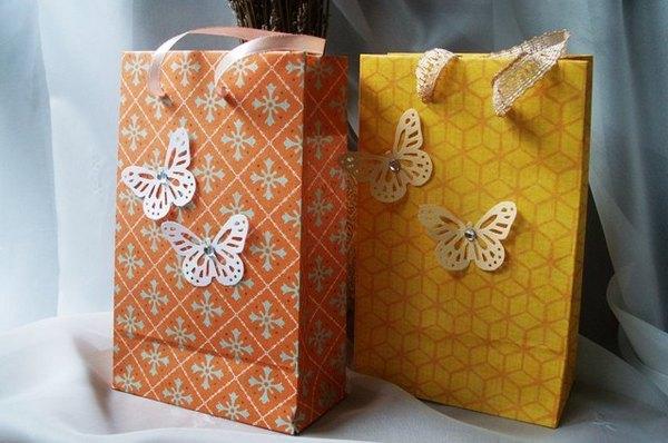 Подарочные пакеты и мешочки