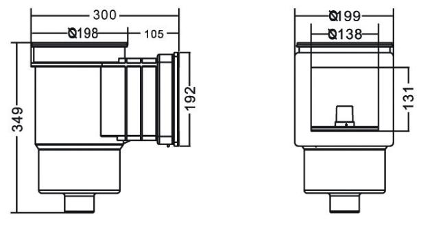 Скиммер Emaux Standard под лайнер размеры
