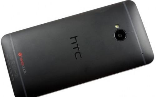 HTC Задняя часть корпуса (крышка аккумулятора) One M7 Dual Sim 802w Black