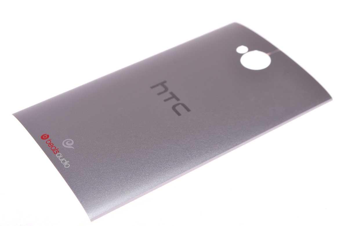HTC Задня частина корпусу (кришка акумулятора) One M7 Dual Sim 802w Silver